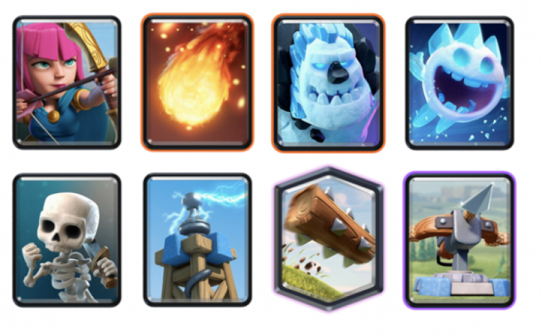 clash royale league challenge best decks 20 wins strategy winning tips guide  X-Bow 2.9 Cycle