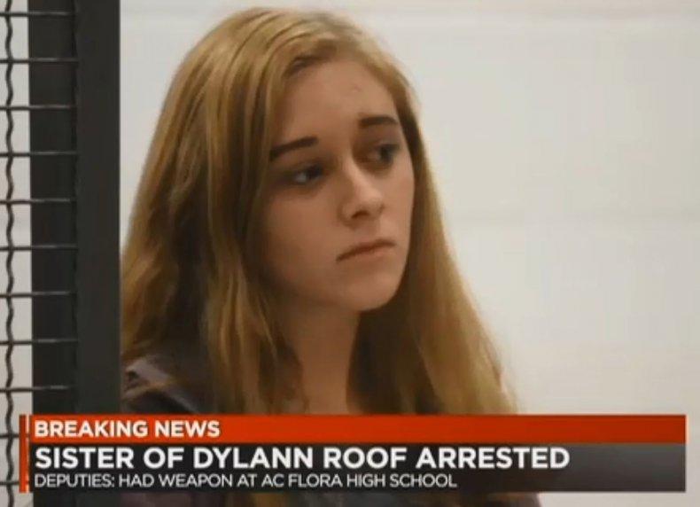dylan roof sister morgan