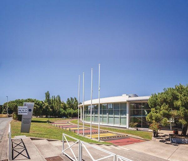 La Rochelle Education Group In France Ocean Front West Coast
