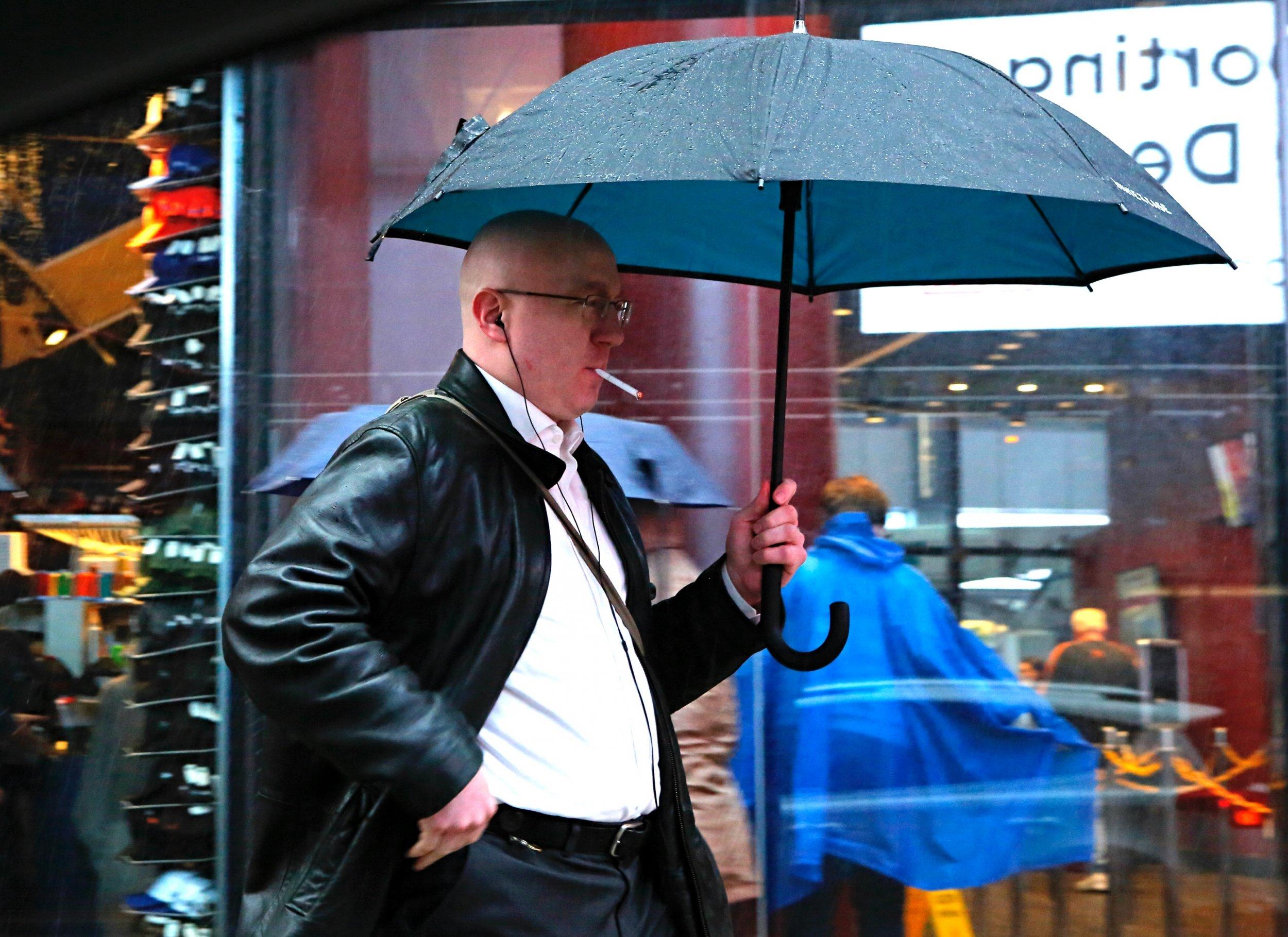 smoker rain new york
