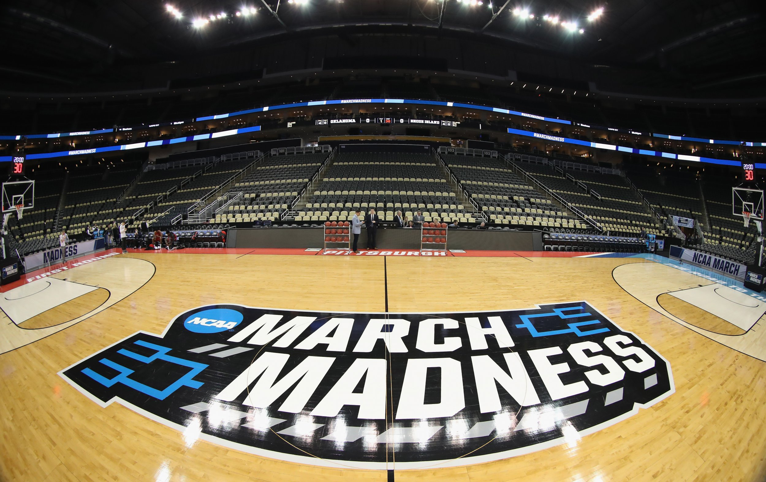 march madness court 2018