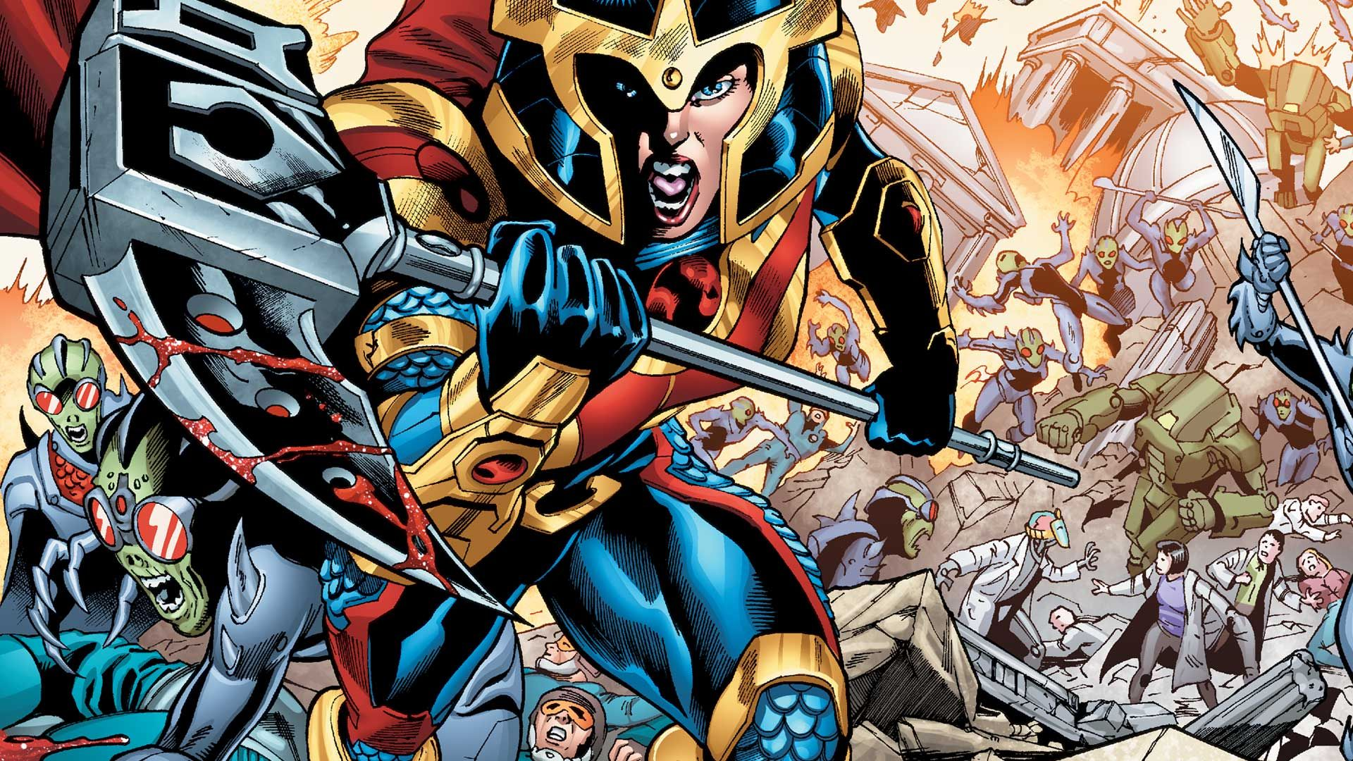 New Gods' DC Movie Finds Big Barda Superfan, Ava DuVernay