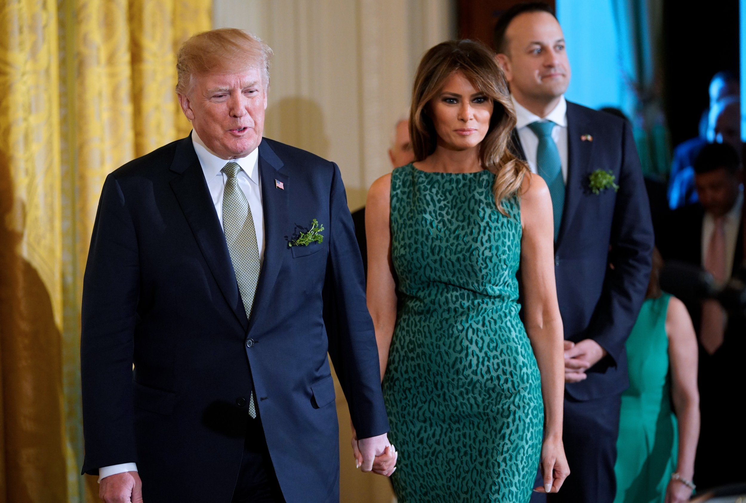 Trump shamrock