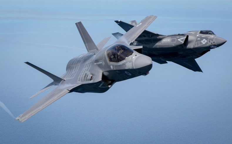 GettyImages-544080240 F-35