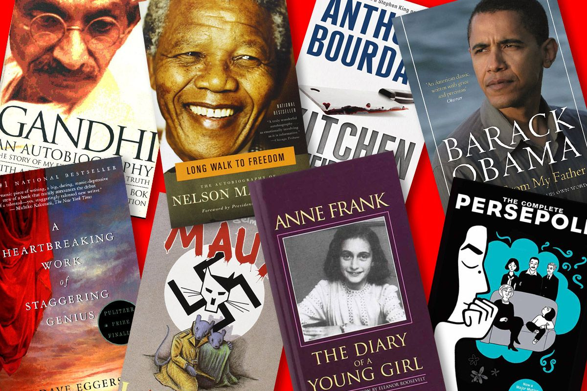 List of celebrity autobiographies