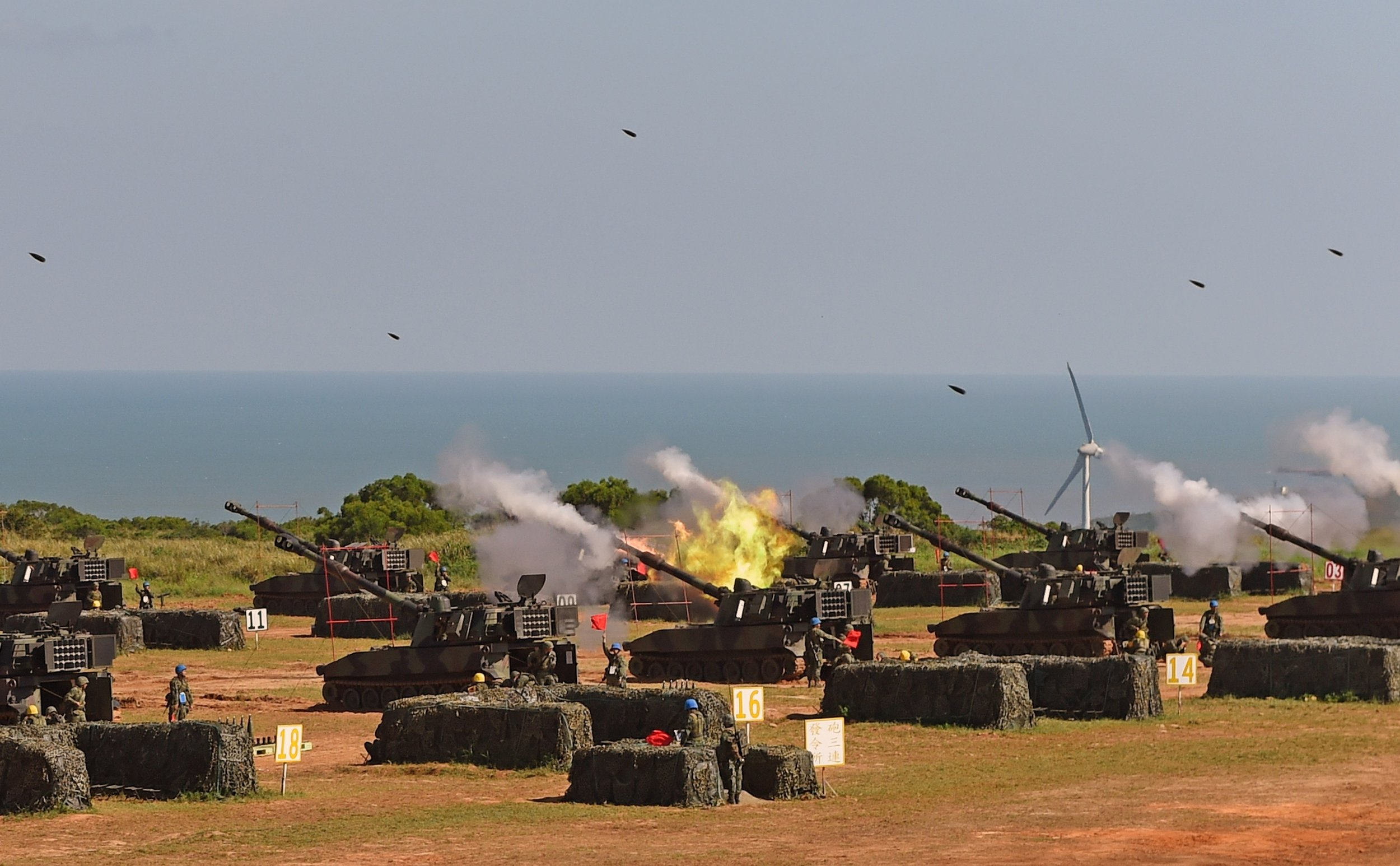 GettyImages-487493160 Taiwan military drill