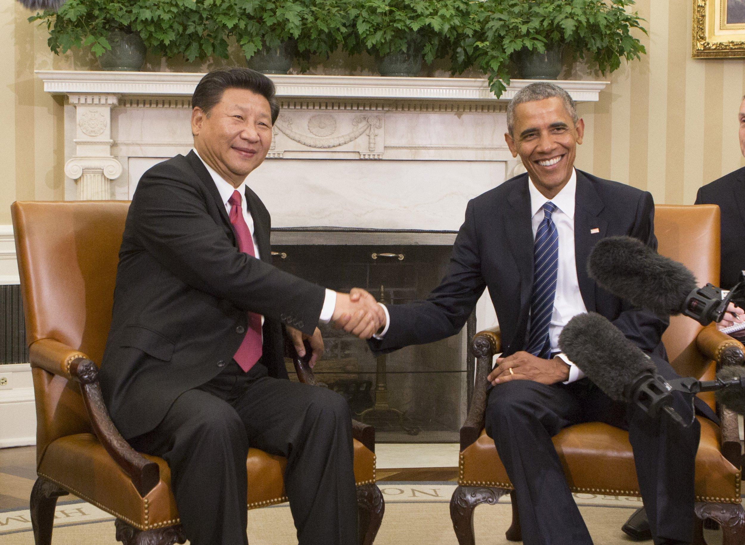 XI Jinping, Obama
