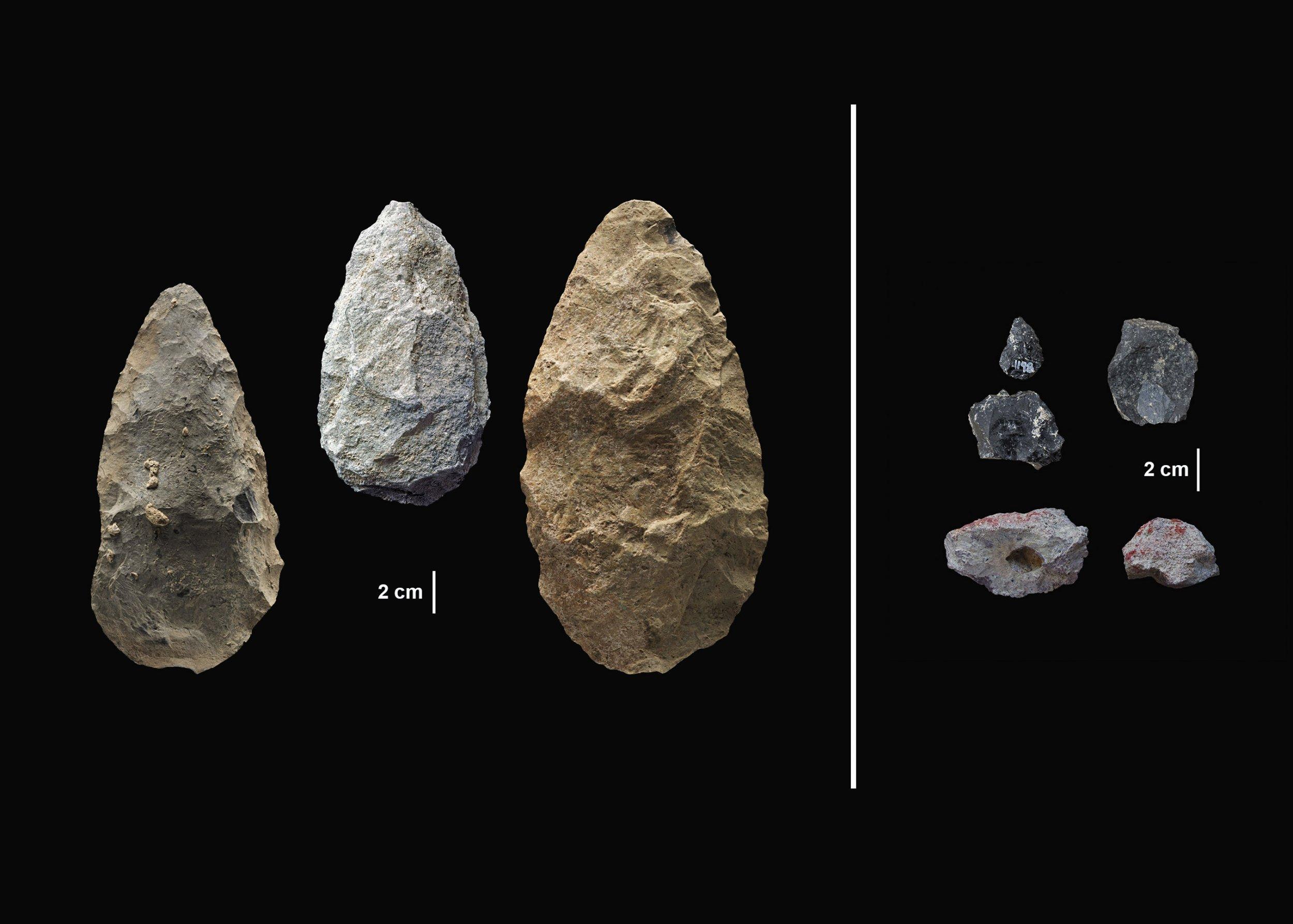 3_16_Olorgesailie Achulean Handaxes MSA points pigments (1)