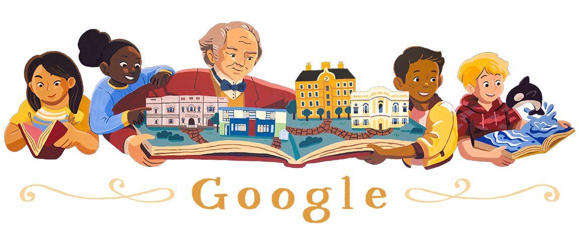 george peabody google doodle