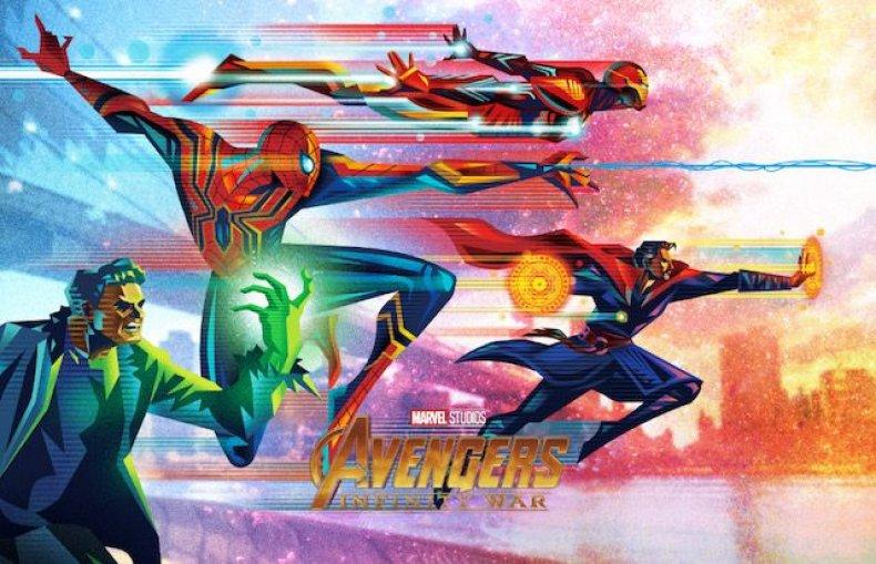 Oomori-IW-Team Brain-Final avengers infinity war