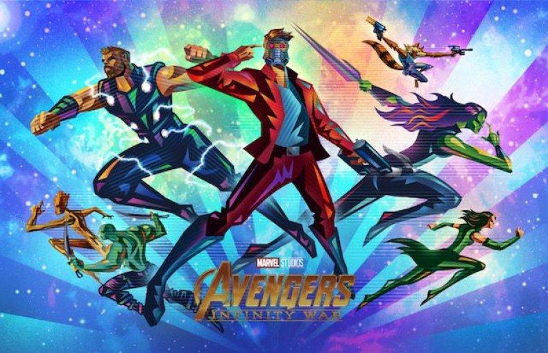 Oomori-IW-Team Space-Final avengers infinity war