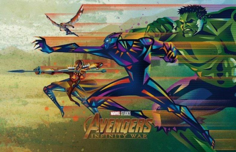Oomori-IW-Team Wild A-Final avengers infinity war