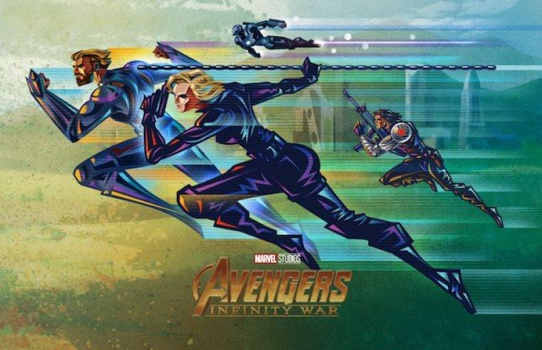 Oomori-IW-Team Wild B-Final avengers infinity war