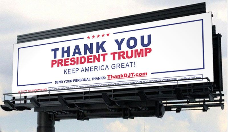 CDP-Trump-billboard thank you