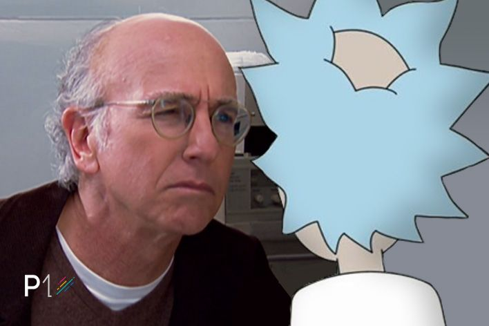 Larry vs Rick Staredown