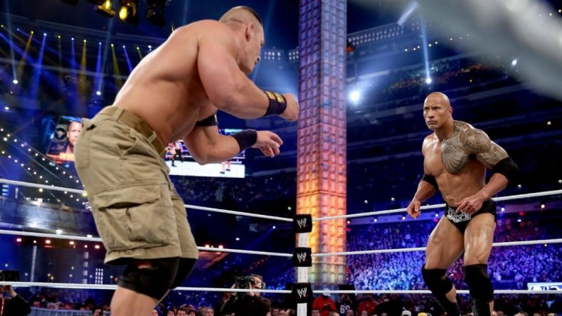 wrestlemania 29 rock vs john cena