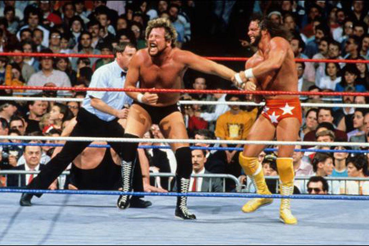 wrestlemania 4 savage vs dibiase