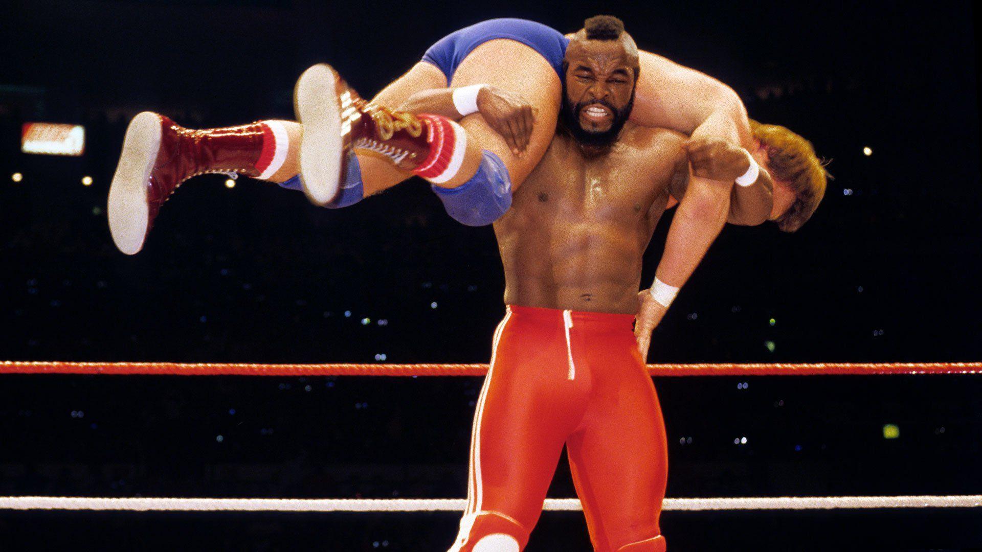 wrestlemania 1 mr t piper