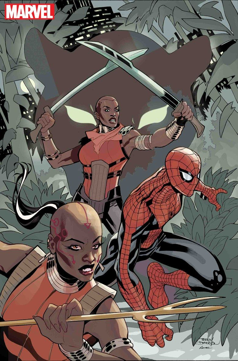 wakanda forever amazing spider man dora milaje comic marvel