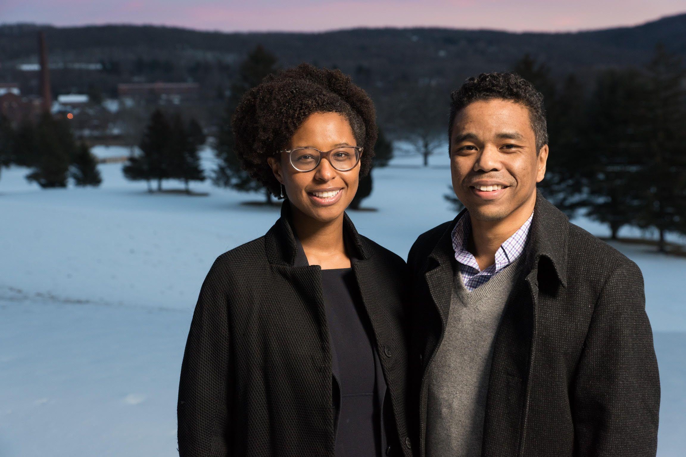 Tracy Davis and Johnathan Davis