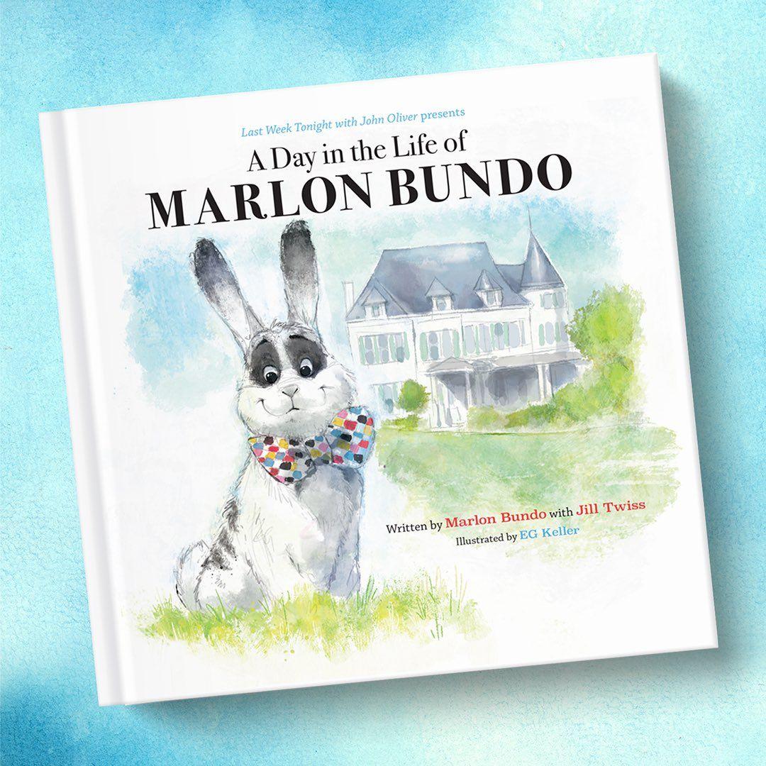 Marlon Bundo book