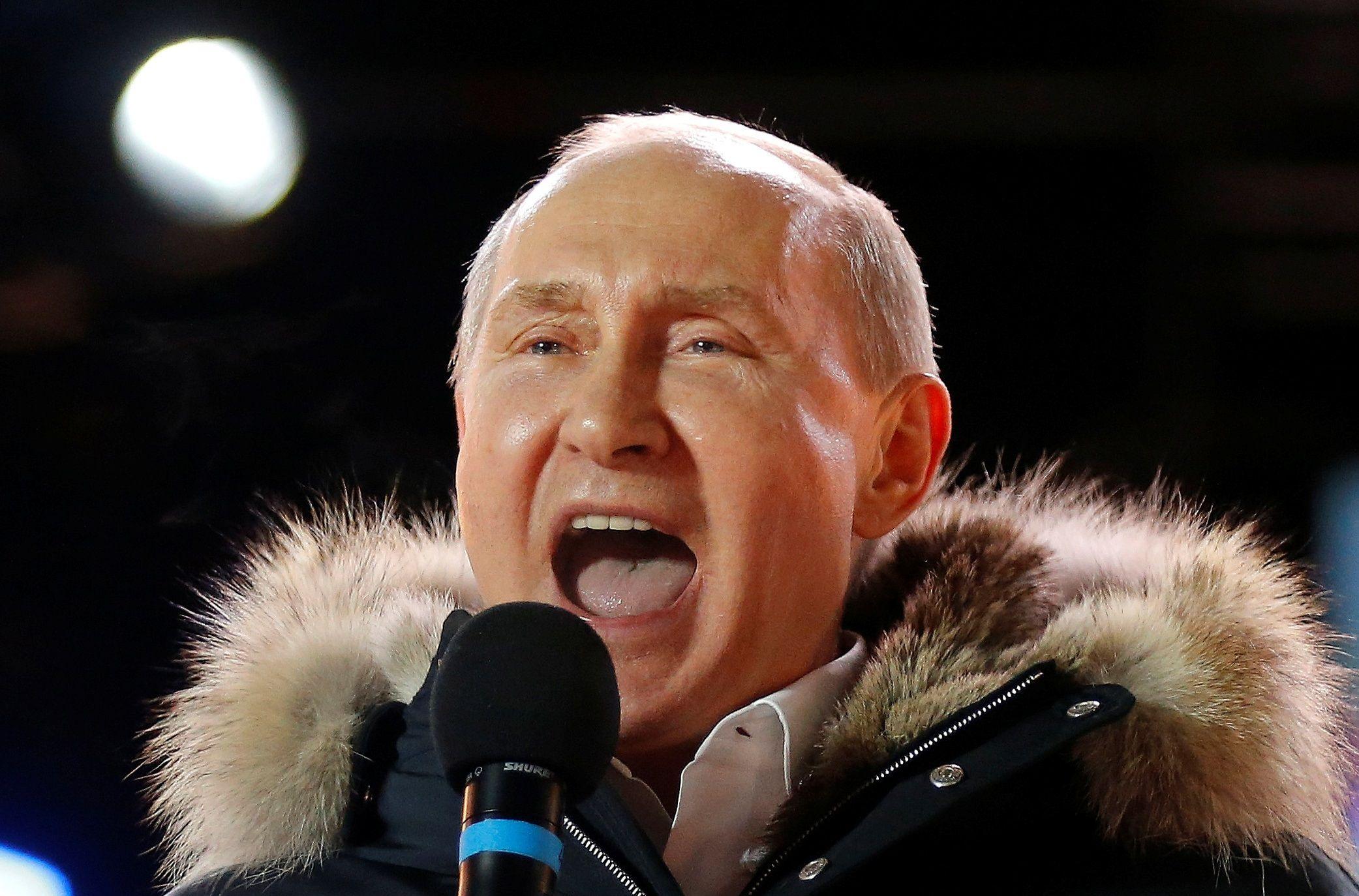 Vladimir Putin Russia election