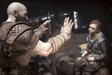 god of war ps4 preview review impressions when is 4 coming out