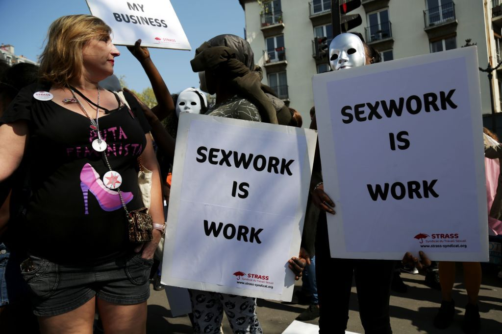 sex work protest