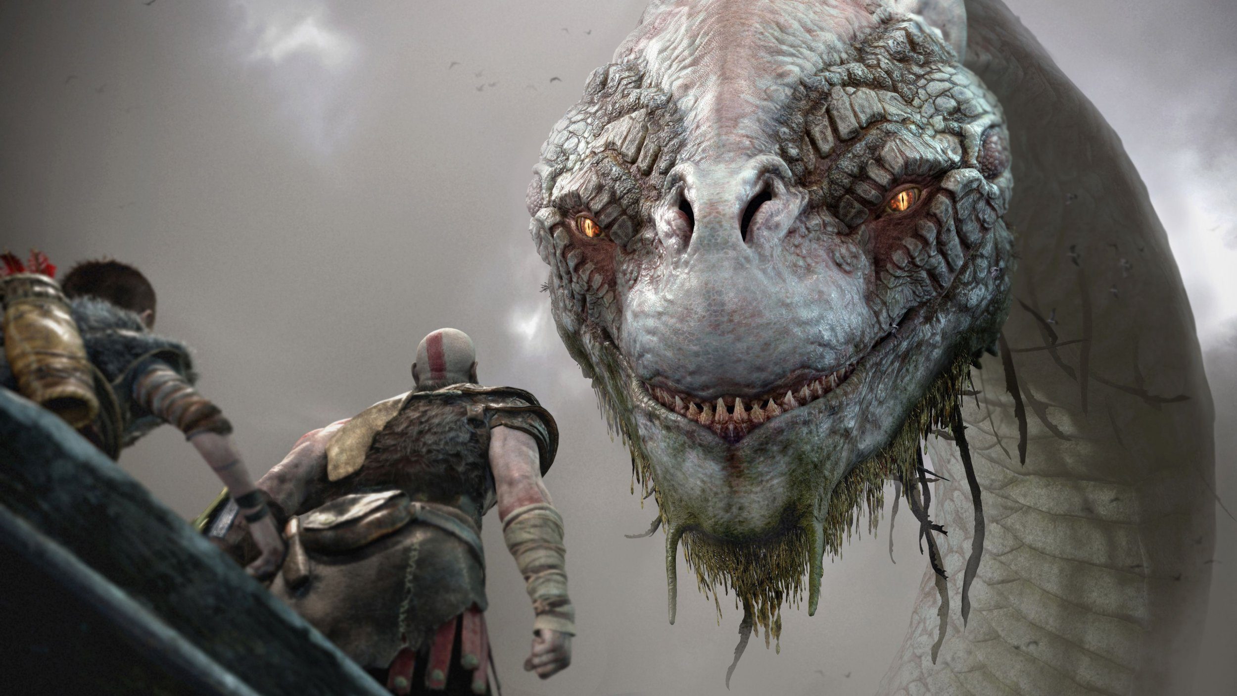 god of war midgard serpent