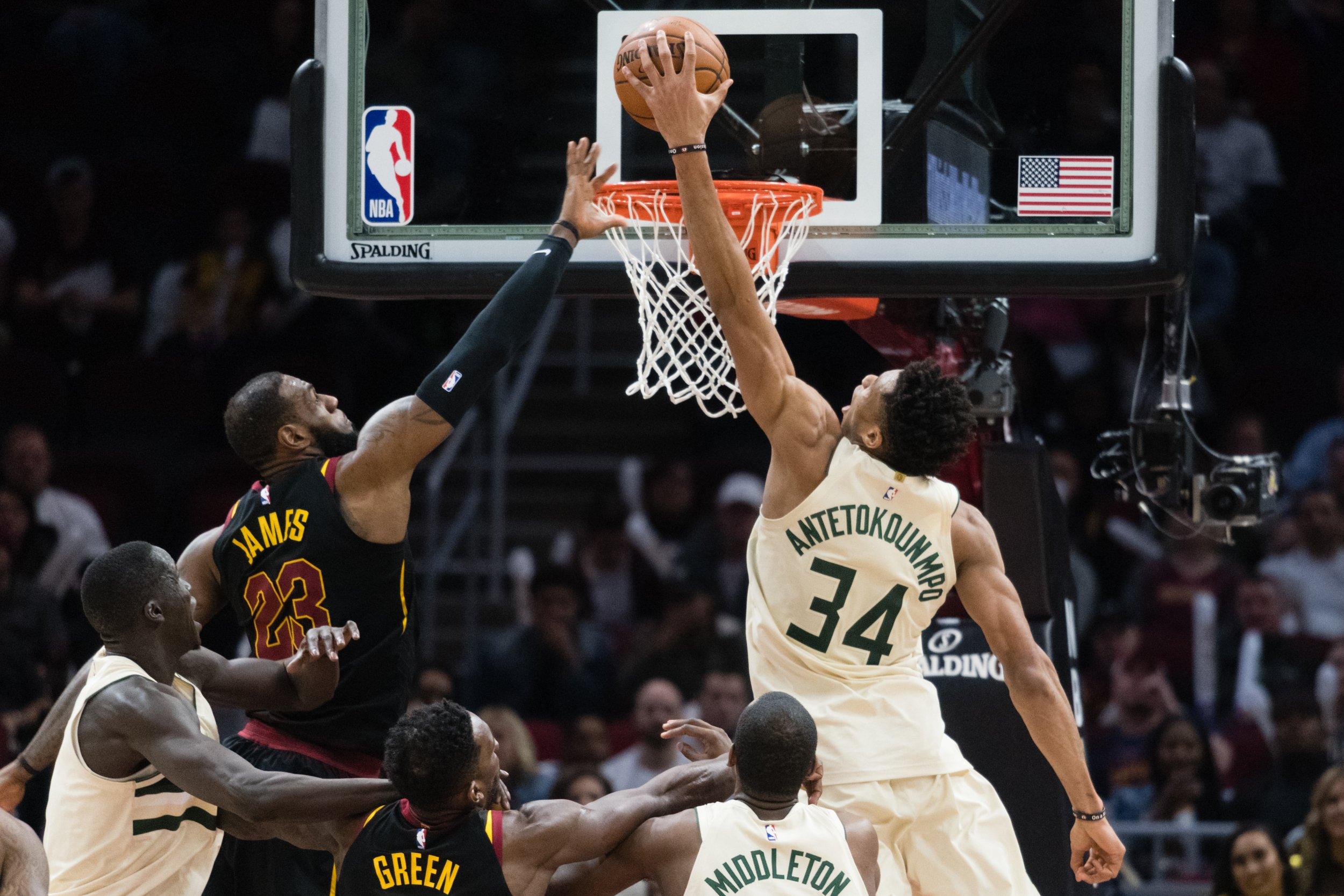 LeBron James vs Giannis Antetokounmpo: No Contest as the ...