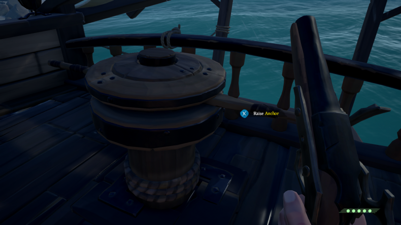 sea of thieves anchor wheel sailing navigation guide how to use maps compass tips sails beginners