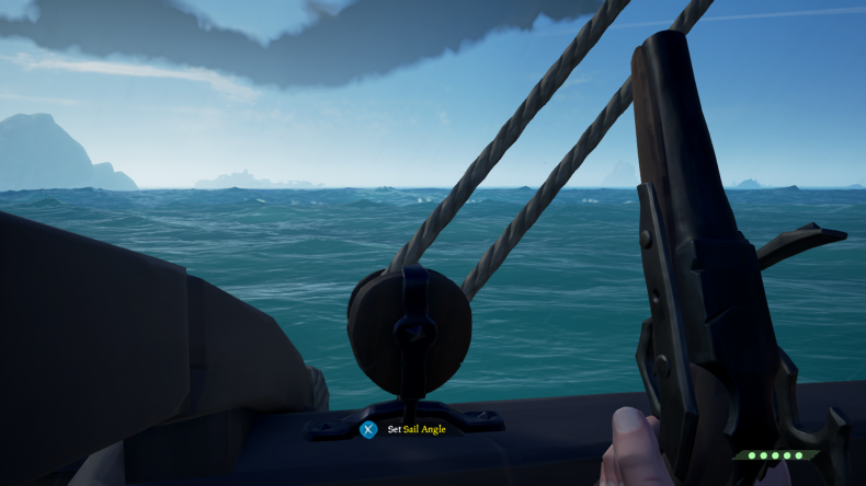 sea of thieves sail angle guide sailing navigation how to use maps compass beginners