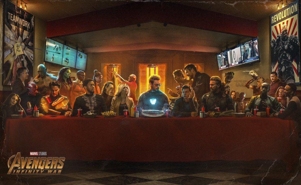 bosslogic last shawarma infinity war avengers
