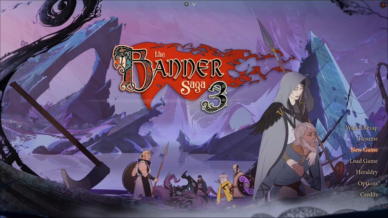 'Banner Saga' 3 logo