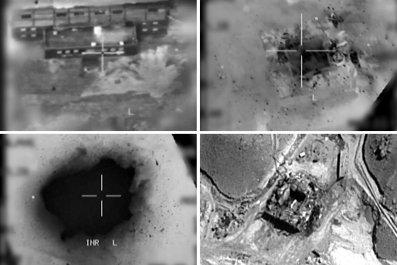 Operation Orchard Israel airstrike Syria 2007