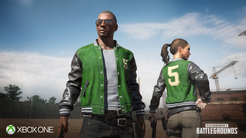 'PUBG' Xbox Varsity jacket