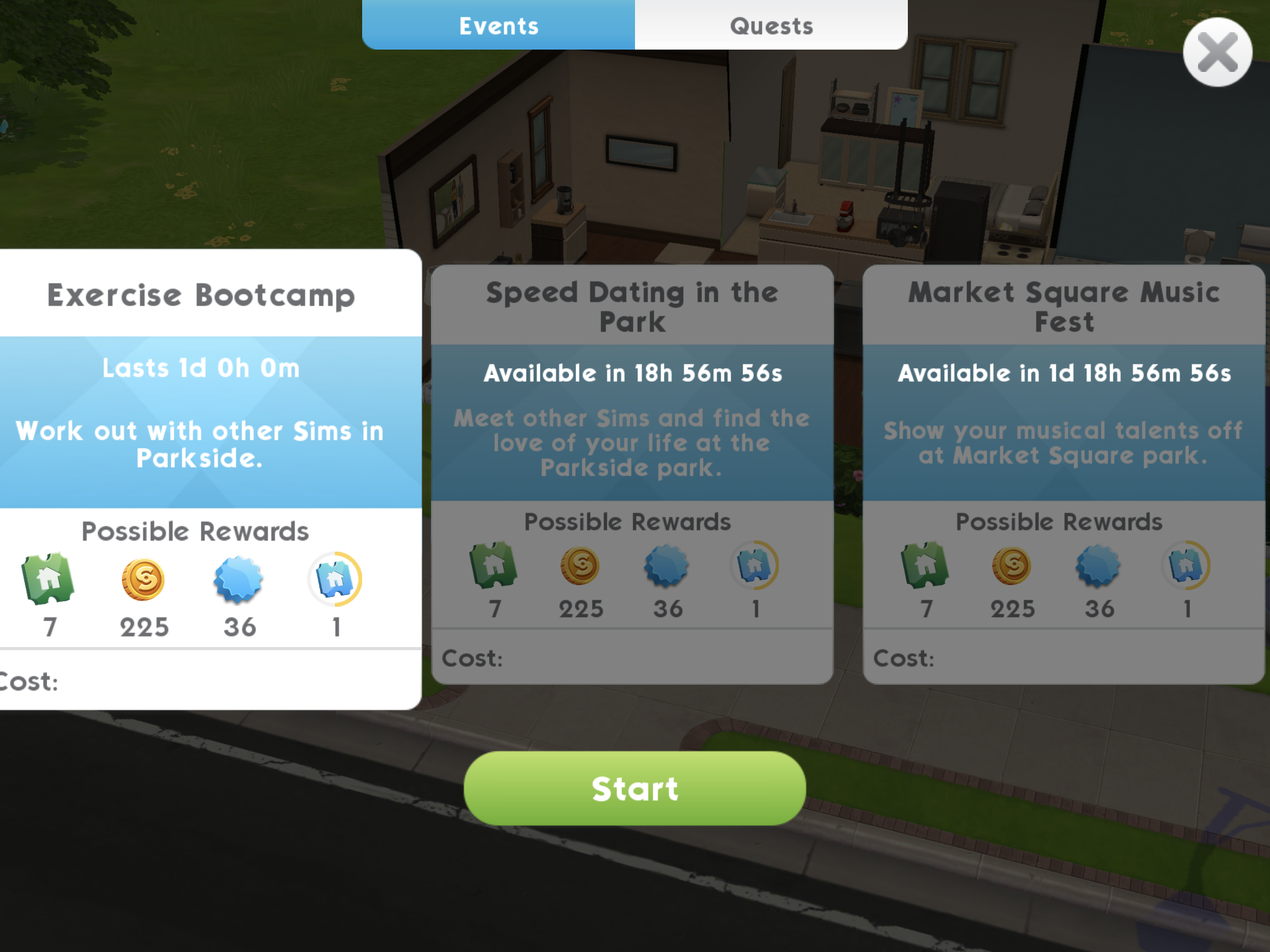 The Sims Mobile' Special Events: Tips for Completing Daily or Weekly