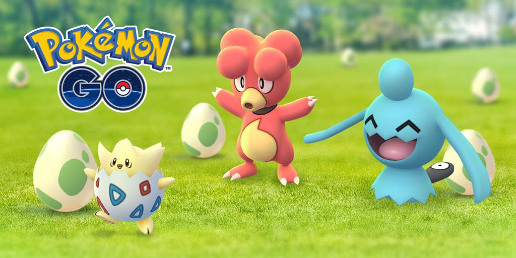 pokemon go easter egg event