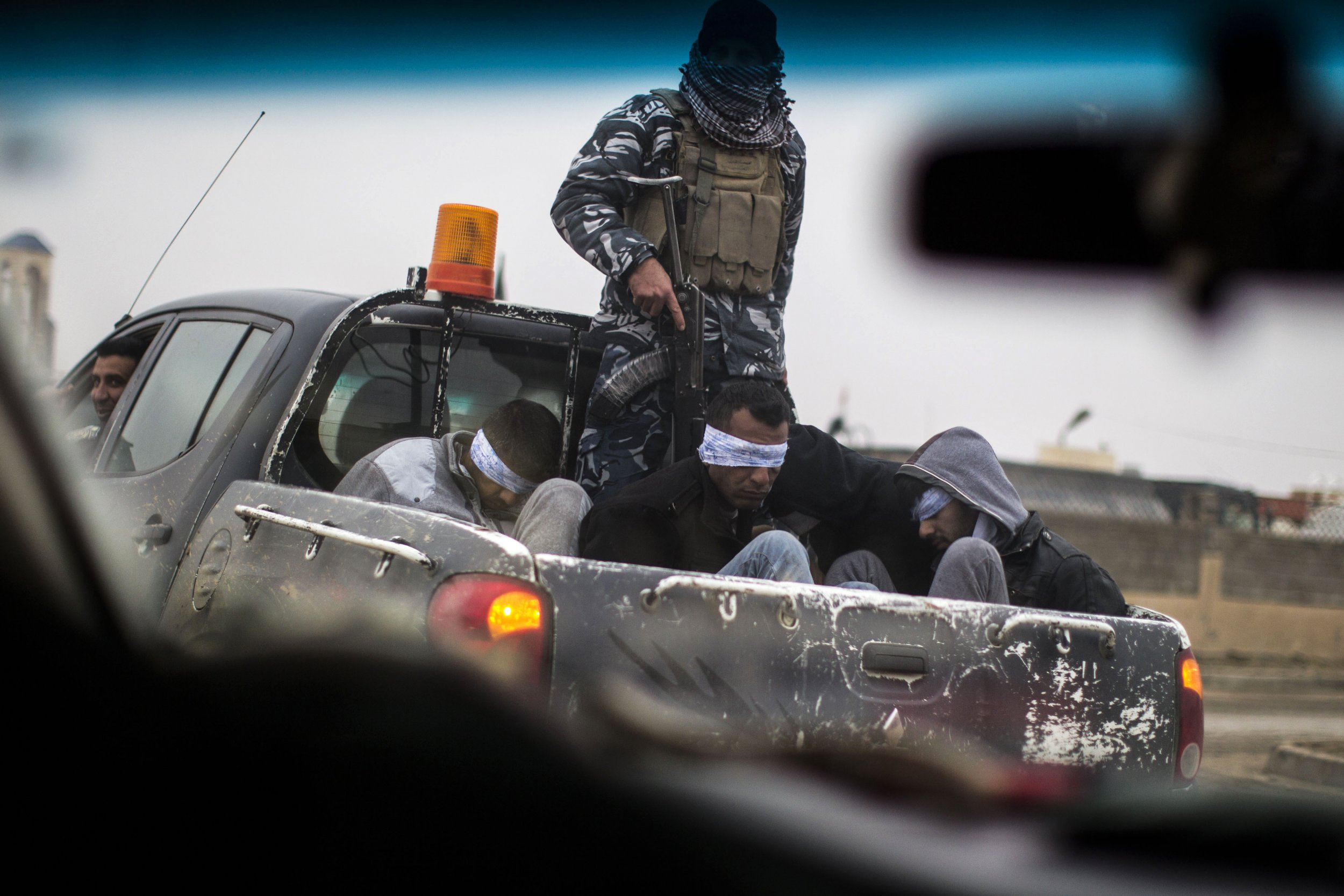 ISIS prisoners Mosul