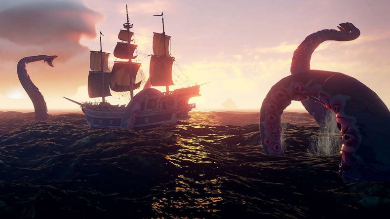 sea of thieves kraken where is it location how to find body rewards loot guide