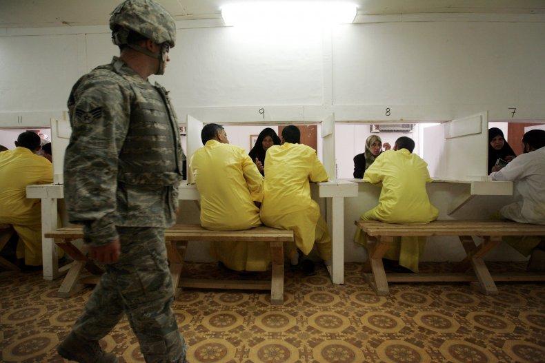 Camp Bucca Iraq US Army