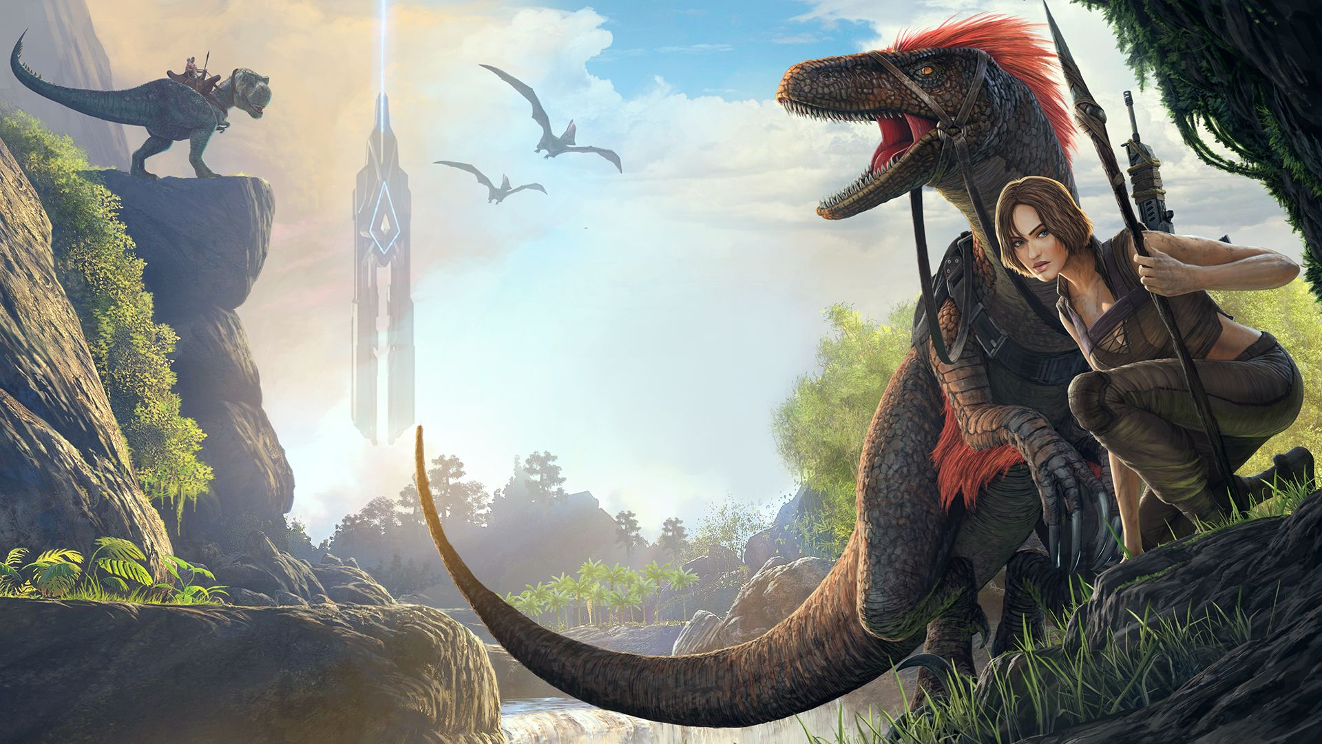 Ark Survival Evolved Backgrounds: 'ARK: Survival Evolved' Nintendo Switch Release Coming