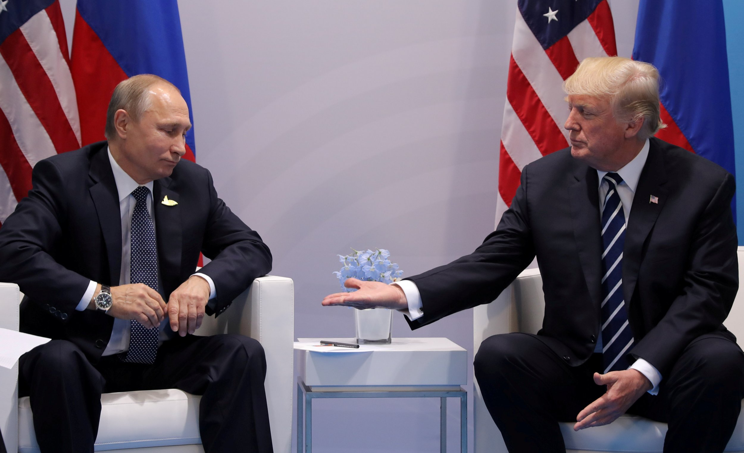 The U.S. and Russia grow closer as top generals and presidents speak
