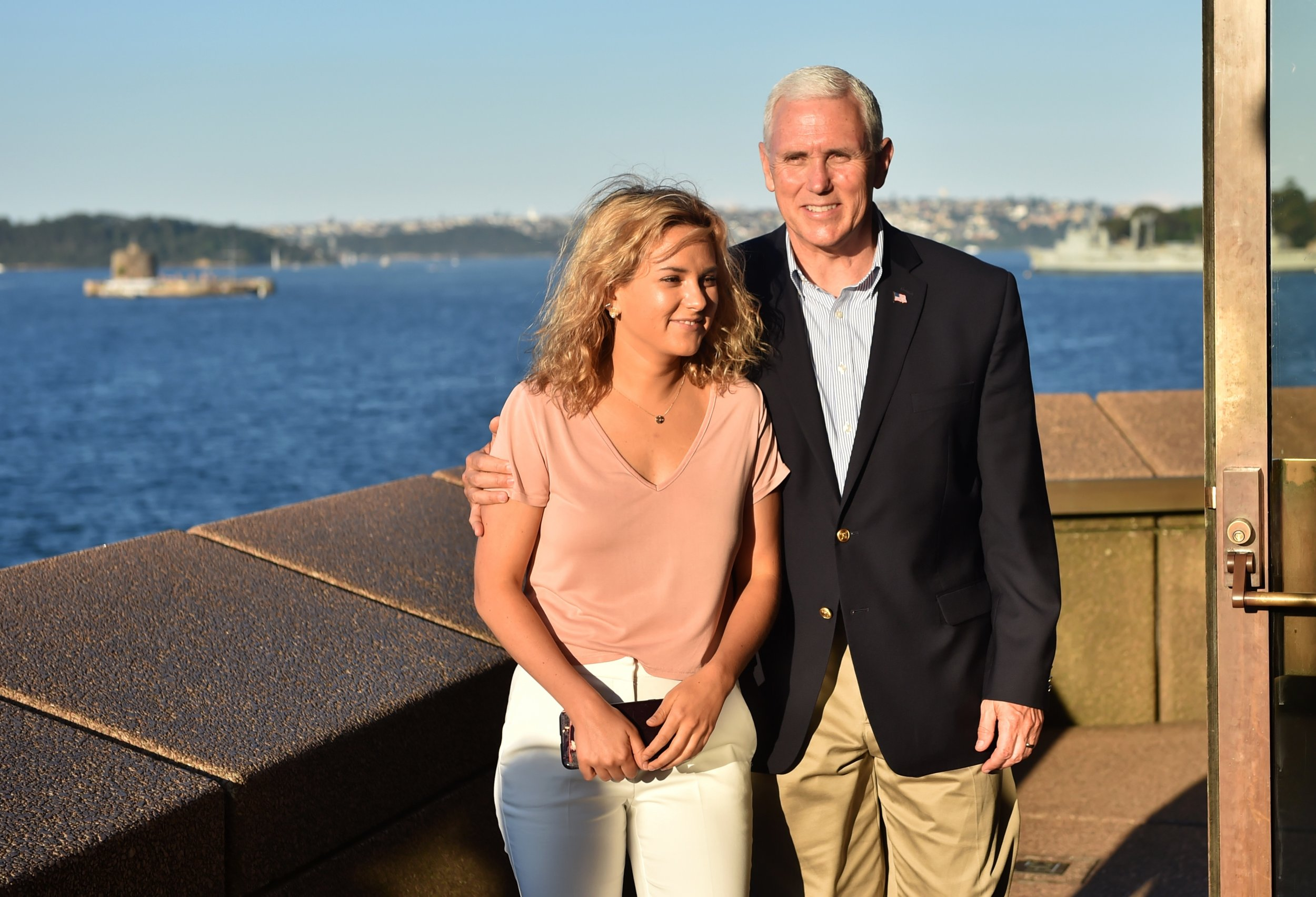 Mike and Charlotte Pence