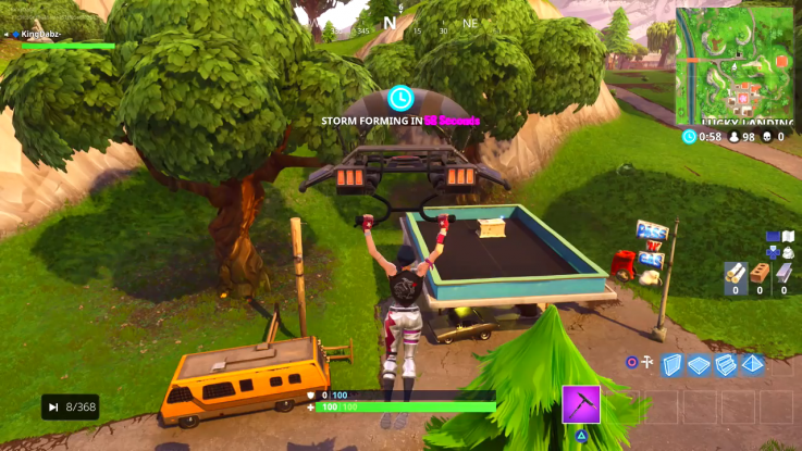 'Fortnite' Anarchy Acres Treasure, Gas Station Locations ...