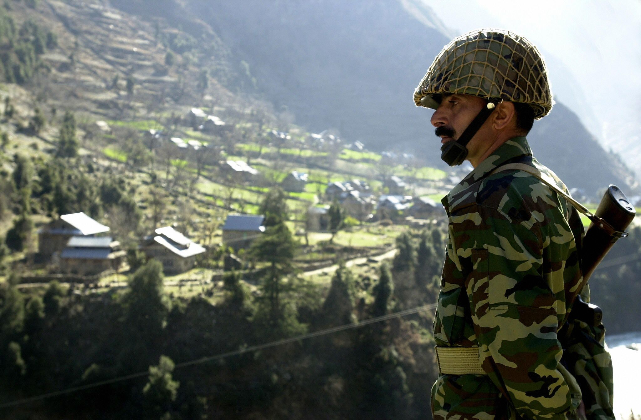 Pakistan Line of Control Kashmir
