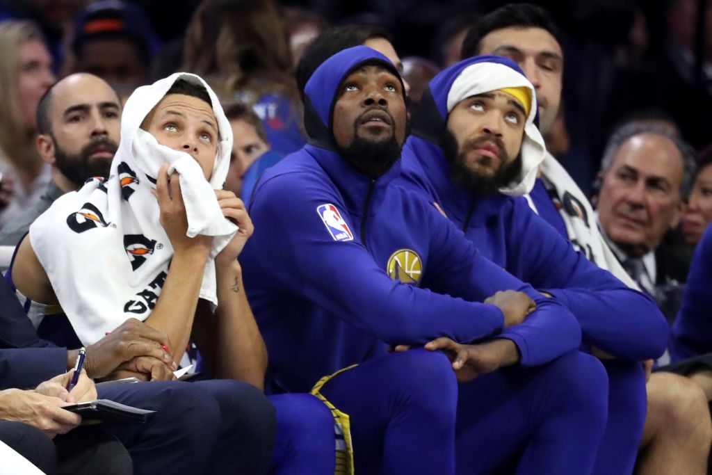 Curry, Durant and McGee