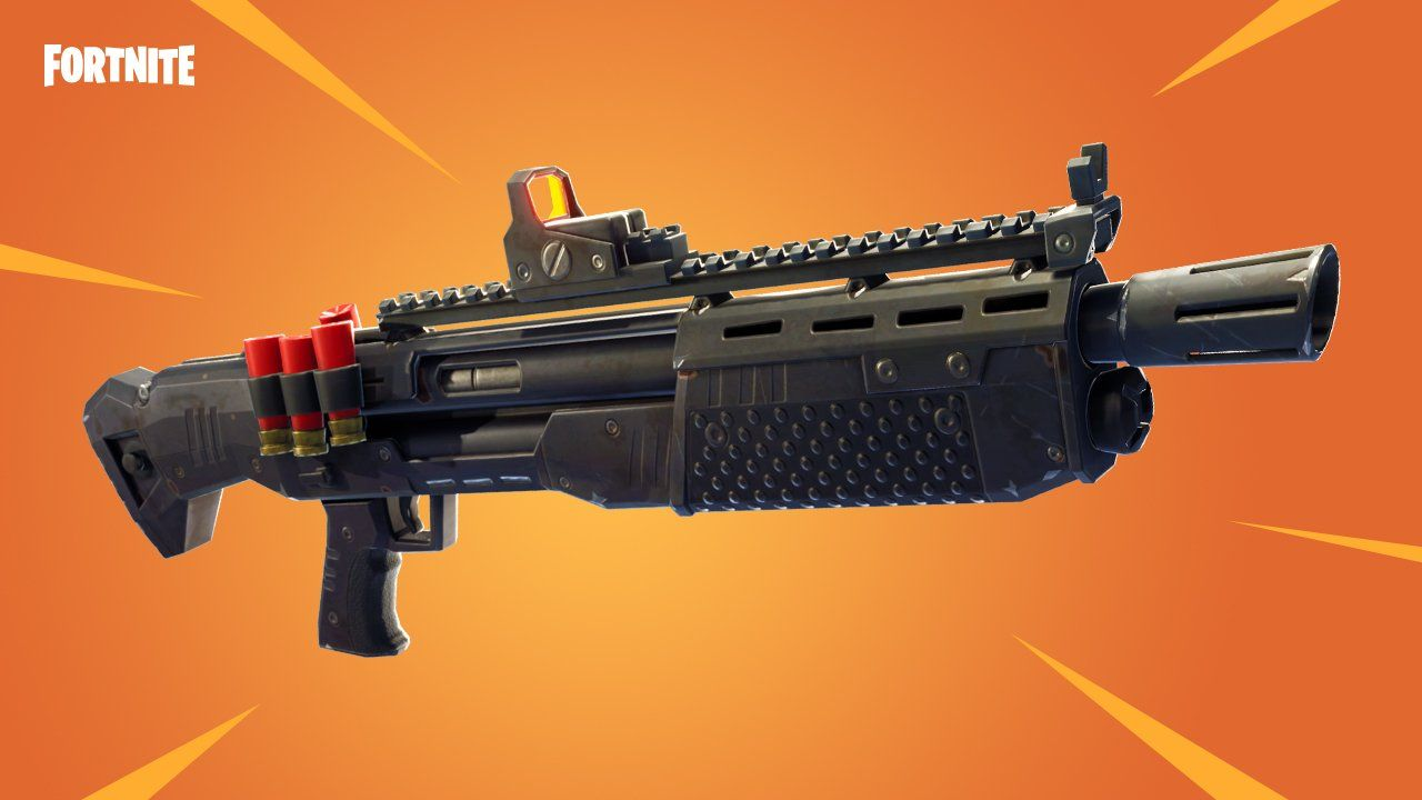 'Fortnite' Heavy Shotgun Released With Update 3.3.1 - No ...