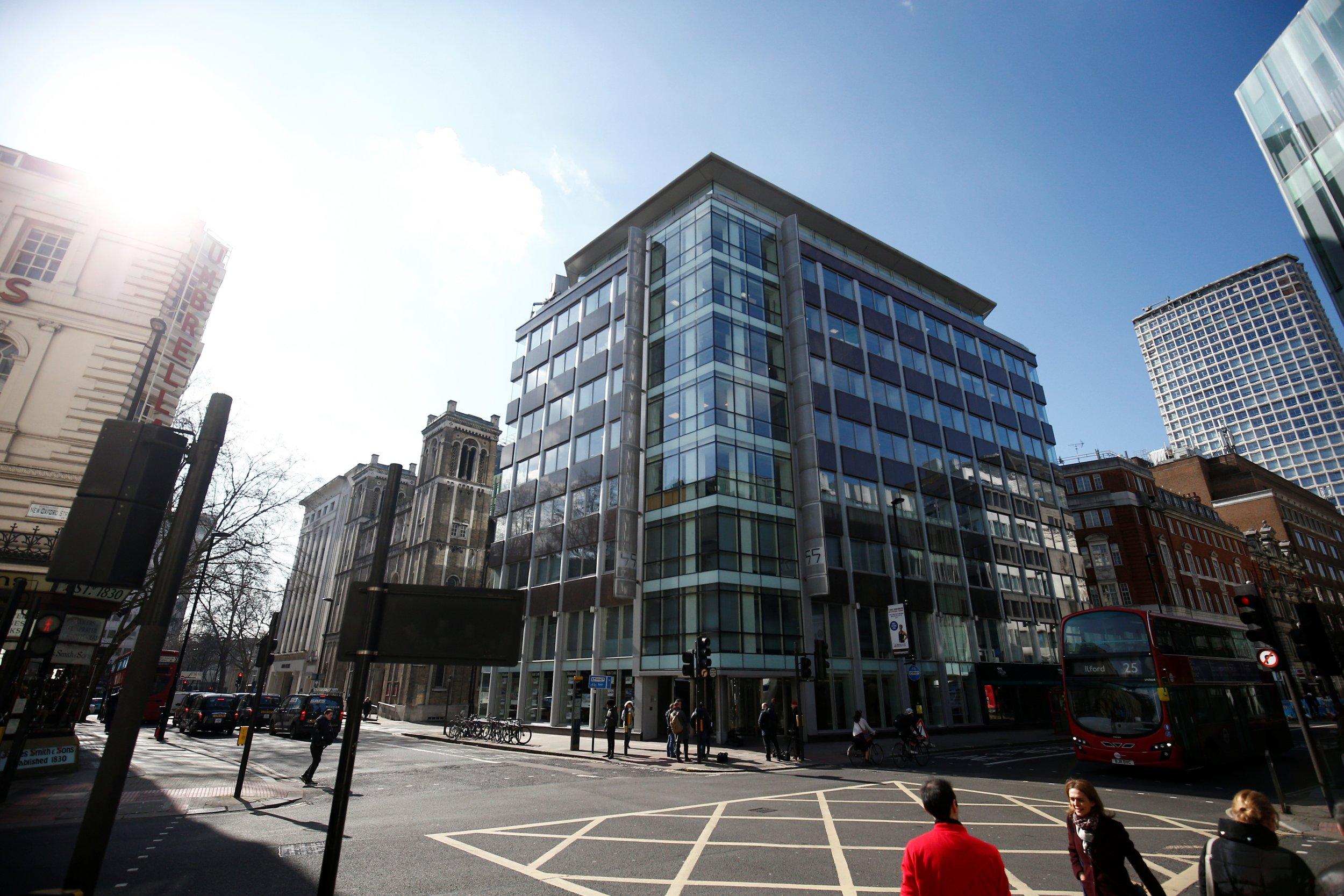Cambridge Analytica HQ