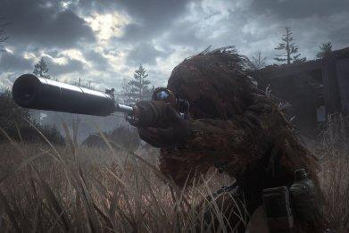 'Call Of Duty Modern Warfare Remastered' sniper